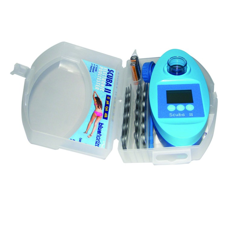 Scuba ii testeur l ctronique le plus pr cis et le plus for Testeur eau piscine