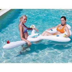 Bar flottant piscine
