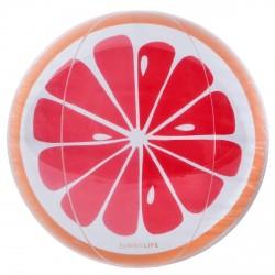 Ballon de plage 35 cms Pamplemousse