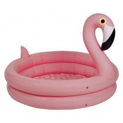 Piscine gonflable Flamant rose