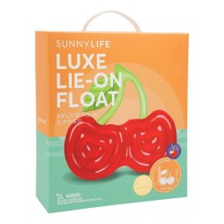 Matelas gonflable Luxe Cerise