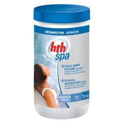 HTH Spa choc sans chlore 1.2 kg