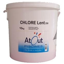 Chlore lent 250grs 10kg