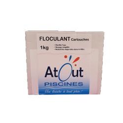 FLOCULANT Cartouches Atout Piscines
