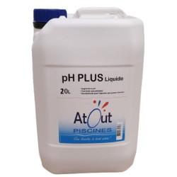 pH Plus Liquide 20L Atout Piscines
