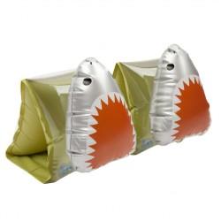 Brassards Mon Copain Requin - Vert Olive