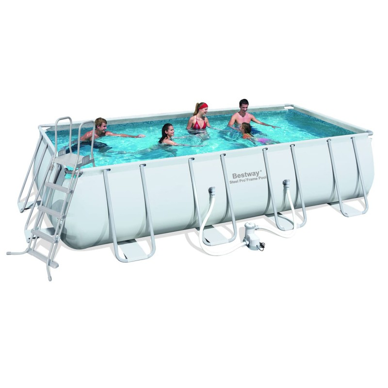 Piscine hors sol bestway cm pour la for Piscine hors sol tubulaire amazon