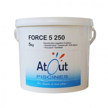 Produit Force 5 chlore multifonctions 5kg