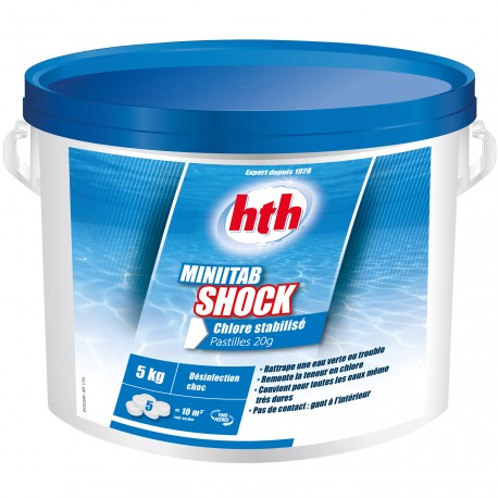Minitab Shock 5 kg (pastilles de 20 grs)