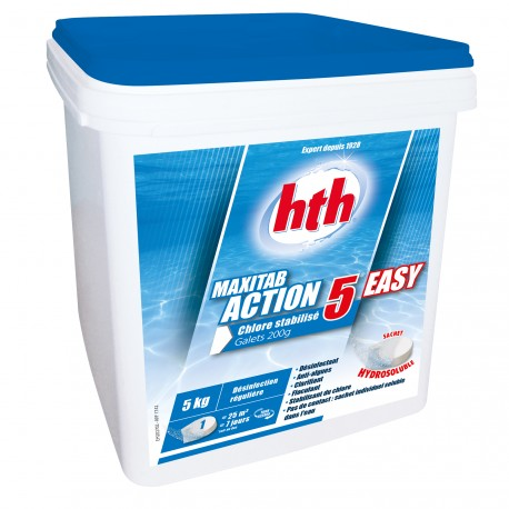 HTH Maxitab Action 5 Easy galets 5 kg