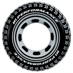 Bouée gonflable pneu D. 119 cm avec poignées