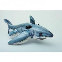 Requin gonflable à chevaucher