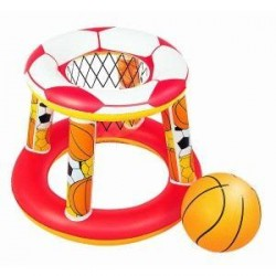 Jeu panier de basket gonflable