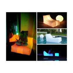 Fauteuil gonflable à LED Nap loon air