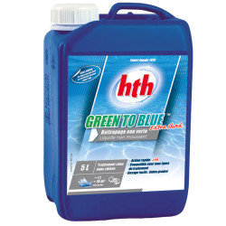 HTH Green to Blue extra shock 5 litres Pack de 2