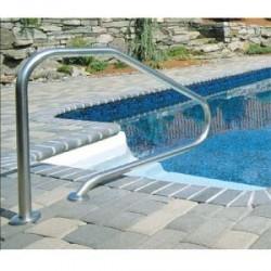 Sortie de bain pour escalier de piscine
